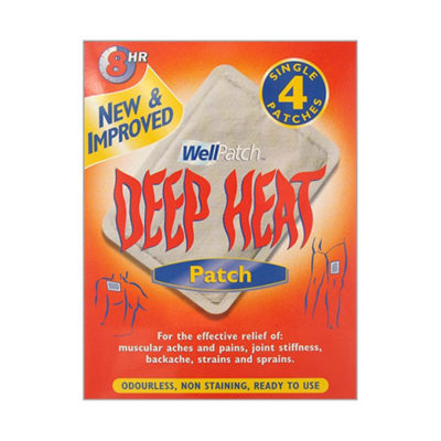 DEEP HEAT PAIN RELIEF HEAT PATCH (4)