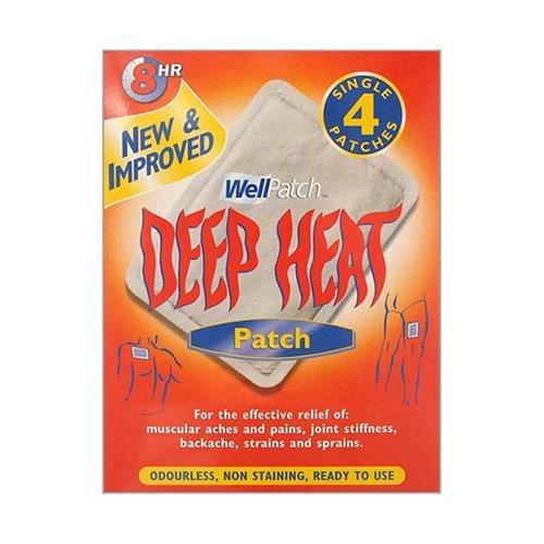 DEEP HEAT PAIN RELIEF HEAT PATCH (4)