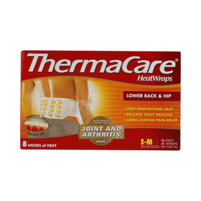 THERMACARE HEATWRAPS LOWER BACK & HIP (2)