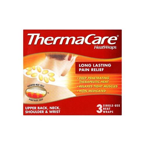 THERMACARE HEATWRAPS UPPER BACK, SHOULDER, NECK & WRIST (3)
