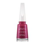 FLORMAR NAIL ENAMEL 409 PURPLE WITH PINK