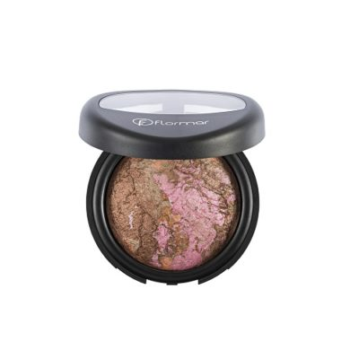 FLORMAR BAKED POWDER – 25 MARBLE PINK GOLD