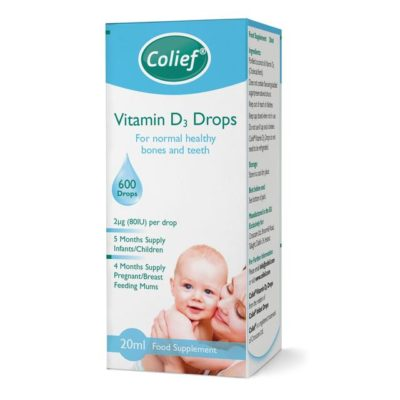 COLIEF VITAMIN D3 DROPS