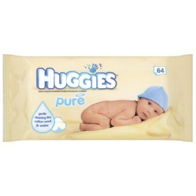 HUGGIES BABY WIPES PURE