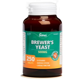 SONA BREWER'S YEAST 500MG TABLETS (250)