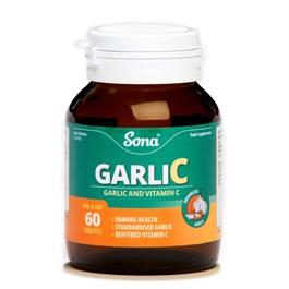 SONA GARLIC C CAPSULES (60)