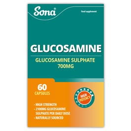 SONA GLUCOSAMINE 700MG TABLETS (60)