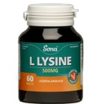 SONA L-LYSINE 500MG TABLETS (60)