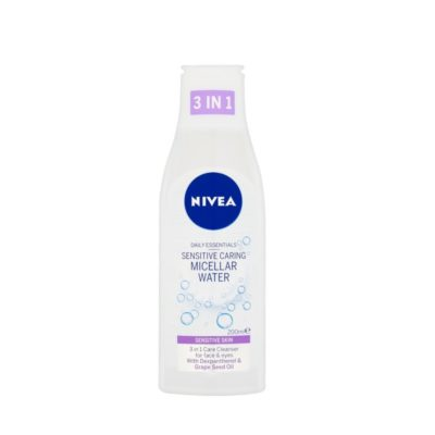 NIVEA DAILY ESSENTIALS 3in1 MICELLAR CLEANSING WATER (200ML)