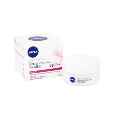 NIVEA DAILY ESSENTIALS EXPRESS HYDRATION PRIMER DRY SKIN (50ML)