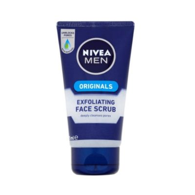 NIVEA MEN ORIGINALS EXFOLIATING FACE SCRUB (75ML)
