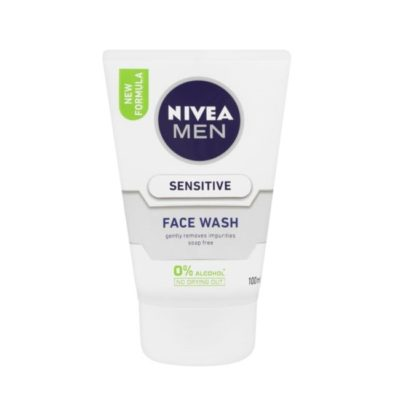 NIVEA MEN SENSITIVE FACE WASH (100ML)