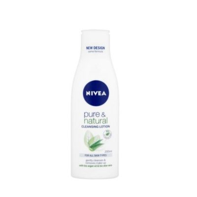 NIVEA PURE & NATURAL CLEANSING LOTION (200ML)