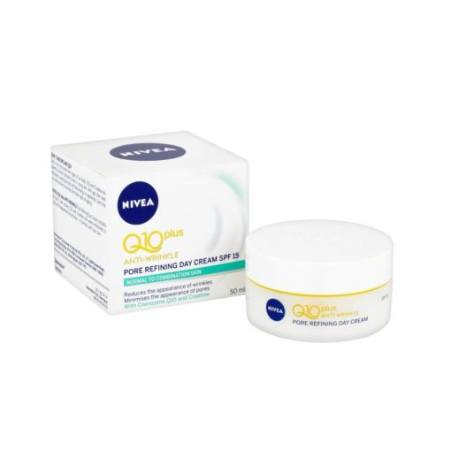 NIVEA Q10 PLUS ANTI-WRINKLE PORE REFINING DAY CREAM (50ML)