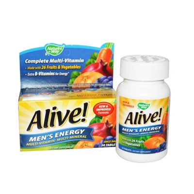 ALIVE MEN'S ENERGY VITAMINS (30)