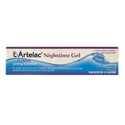 ARTELAC NIGHTTIME GEL FOR DRY EYES (10G)