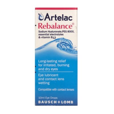 ARTELAC REBALANCE EYE DROPS (10ML)