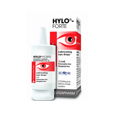 HYLO-FORTE EYE DROPS (7.5ML)