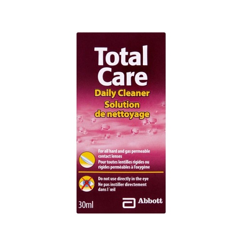 TOTAL CARE DAILY CLEANER (30ML)