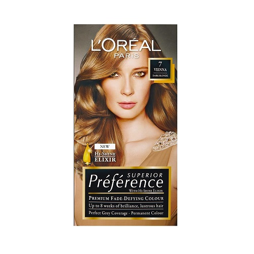 L'OREAL PREFERENCE PERMANENT HAIR COLOURS