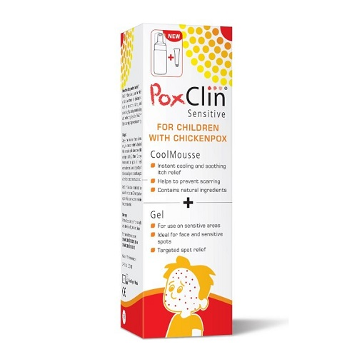 POXCLIN SENSITIVE COOLING MOUSSE (100ML)