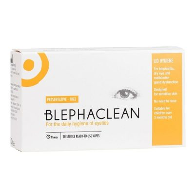 BLEPHACLEAN STERILE EYELID PADS (20)