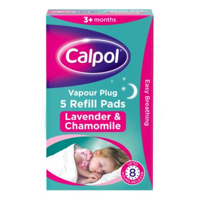 CALPOL VAPOUR PLUG REFILLS (5)