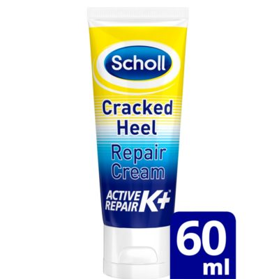 SCHOLL CRACKED HEEL REPAIR CREAM ACTIVE REPAIR K+(60ML)