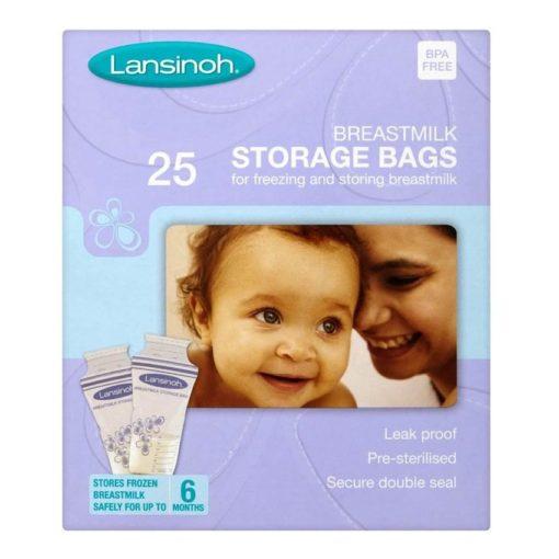 LANSINOH BREASTMILK STORAGE BAGS (25)