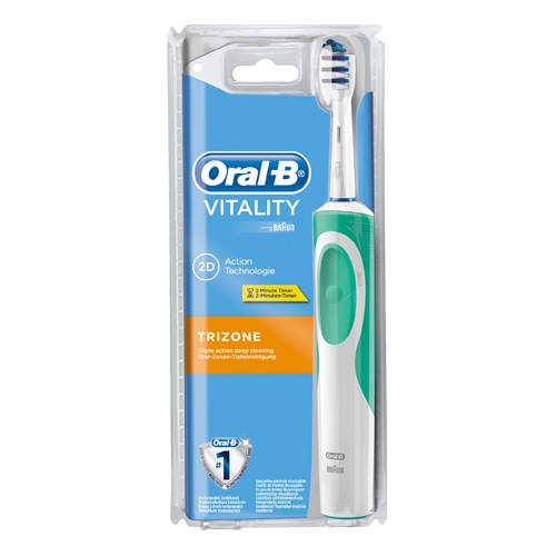 ORAL B VITALITY TRIZONE ELECTRIC TOOTHBRUSH (1)