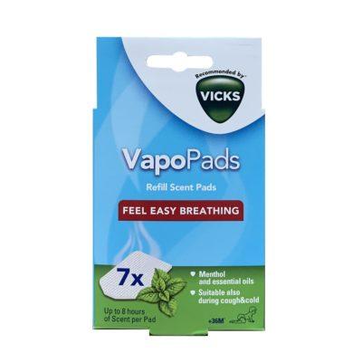 VICKS COMFORTING VAPOPADS MENTHOL (7)