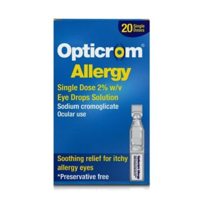 OPTICROM ALLERGY SINGLE DOSE (20)