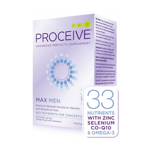 PROCEIVE MEN MAX SACHETS (30)