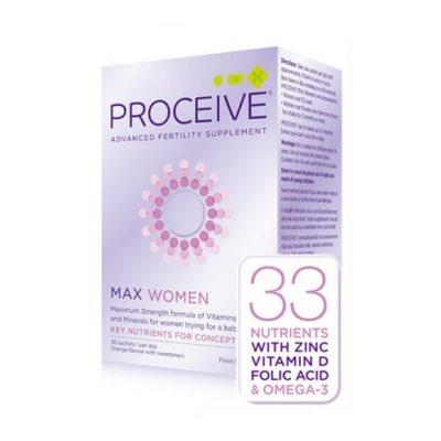 PROCEIVE WOMEN MAX SACHETS (30)
