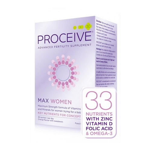 PROCEIVE WOMEN MAX SACHETS (30)
