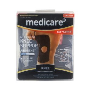 MEDICARE NEOPREEN KNEE SUPPORT ONE SIZE (1)