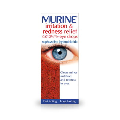 MURINE IRRITATION AND REDNESS RELIEF EYE DROPS (10ML)