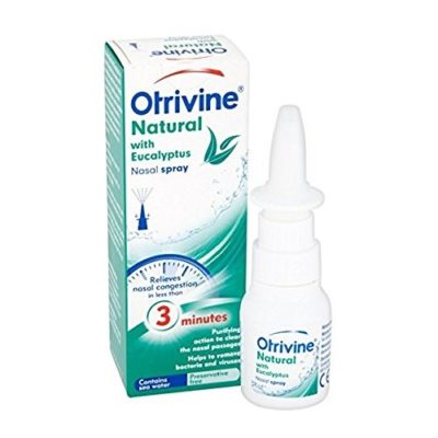 OTRIVINE NATURAL NASAL SPRAY WITH EUCALYPTUS (20ML)