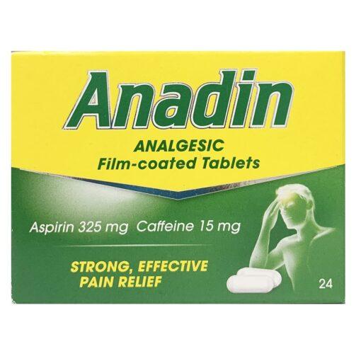 ANADIN ANALGESIC TABLETS (24)