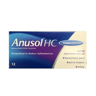 ANUSOL HC SUPPOSITORIES (12)