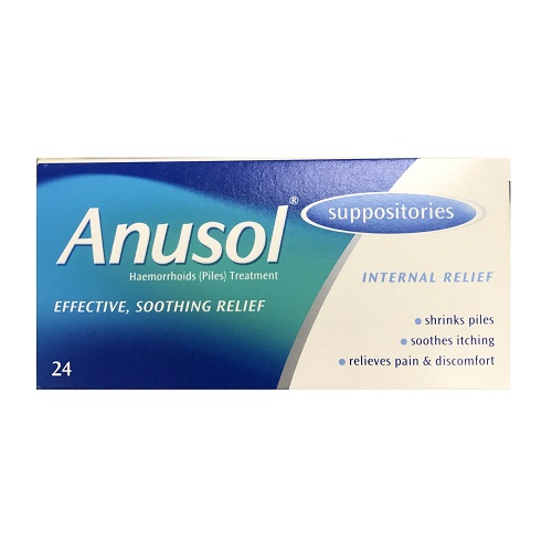 ANUSOL SUPPOSITORIES (24)