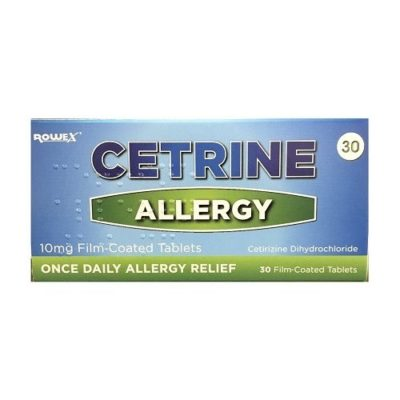 CETRINE 10MG TABLETS CETIRIZINE (30)