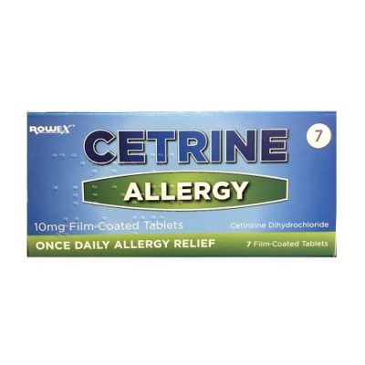 CETRINE 10MG TABLETS CETIRIZINE (7)