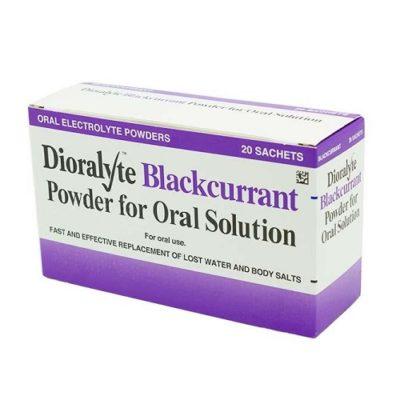 DIORALYTE REHYDRATION SACHETS BLACKCURRANT (20)