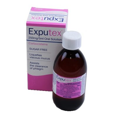 EXPUTEX ORAL SOLUTION 250MG/5ML CARBOCYSTEINE (300ML)