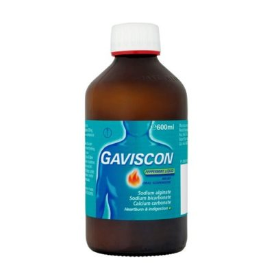 GAVISCON LIQUID PEPPERMINT (600ML)