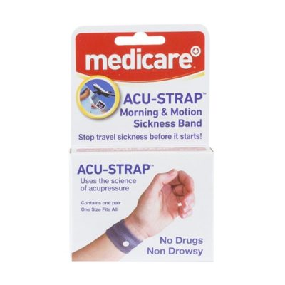 MEDICARE ACU-STRAP MORNING AND MOTION SICKNESS (2)