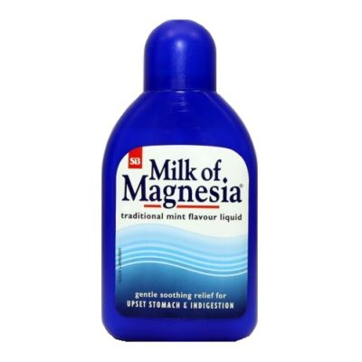 MILK OF MAGNESIA ORAL SUSPENSION MINT (200ML)