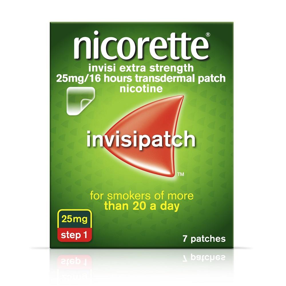 NICORETTE INVISI PATCH - 25MG/16HR NICOTINE (7)
