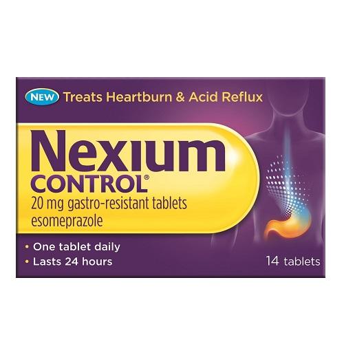 NEXIUM CONTROL 20MG TABLETS ESOMEPRAZOLE (14)